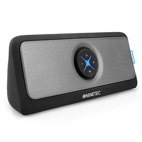 NINETEC Xoomia 30 Watt Home Bluetooth USB Aux Speaker Soundsystem Sound Box Lautsprecher