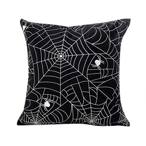 (BZLine® Kissenbezug, Happy Halloween Kissenbezüge Polyester Kissenbezug Home Decor (C))