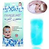Cooling Gel Sheet for fever Headache Toothache Consciousness restoration Cooling Gel Patches 6Pieces set Child Fever Reducer 4 x 10.5cm Fever Cooling Sheet