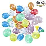 TOYMYTOY Palloncini d'acqua piccoli in lattice colorati (200pcs)