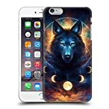 Head Case Designs Offizielle Jonas JoJoesArt Jödicke Traumfänger Wolf Wilde Tiere 2 Ruckseite Hülle für iPhone 6 Plus/iPhone 6s Plus