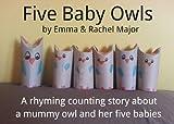Five Baby Owls