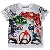 Character Bambino Manica Corta T Shirt Grafica Girocollo Maglietta Casual Avengers 4/5 anni
