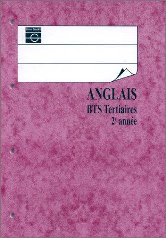Anglais, BTS 2, édition 2000, livre de l'élève