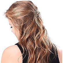 1 paar Fünfeckiger Stern Damen Frisur Haarspange Haarklammer Haarschmuck Neue