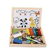 Kinder Lernspielzeug, Cellstar Holzpuzzel mit doppelseitig Tafel Mathmatik Rechnen Spielzeug Holzspielzeug für Kinder von WINGLESCOUT