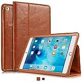 KAVAJ iPad Mini 4 Hülle Echtleder Case Berlin für Das Apple iPad Mini 4 Cognac-Braun aus Echtem Leder mit Stand und Auto Schlaf/Aufwachenen Funktion. Dünnes Smart-Cover Schutzhülle Tasche Lederhülle