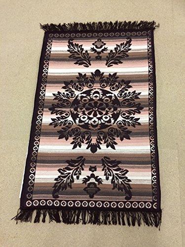 OMASES Anatolische Türkisch Ägyptische Kelim Teppich Teppich 2-seitige Woven Grand Bazaar Damast Oriental Ethnic Marokkanische 60x 90cm
