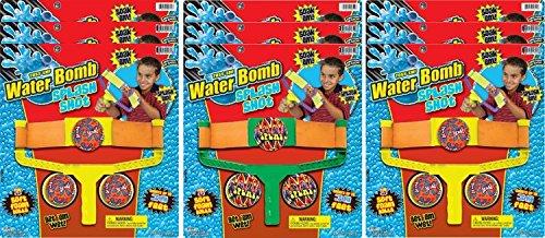 Ja-Ru Waterbomb Splash Shot Party Favor Bundle Pack