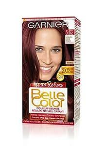 Garnier - Belle Color - Coloration permanente Rouge - 5.62 Acajou irisé riche naturel