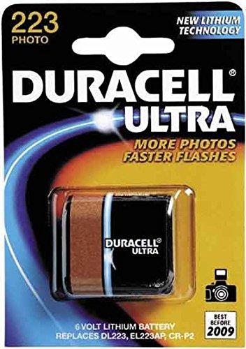 Duracell Lithium Batterie 223 1-Pack Blister Duracell 6v Lithium Photo Batterie
