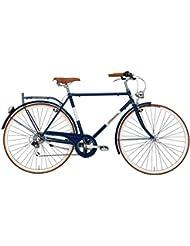 cicli adriatica Hombre Bicicleta condorino, color azul, tamaño 54 cm, tamaño de cuadro 54 centimeters