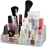 Oxid7® Organizer für Kosmetik Acryl - 22,3x12,7x8 cm - Lippenstift Halter Display