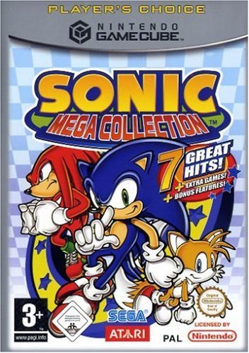 Sonic Mega Collection (Player\'s Choice)