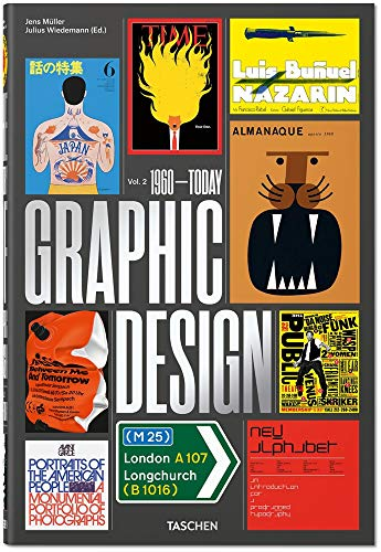 The History of Graphic Design. Vol. 2, 1960–Today Buch-Cover