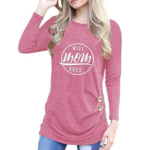Subfamily Damen Mode Oansatz Appliques Langarm-lose Tops Bekleidung Damen Sale T-Shirt Bluse Frauen Applique Long Sleeve Top