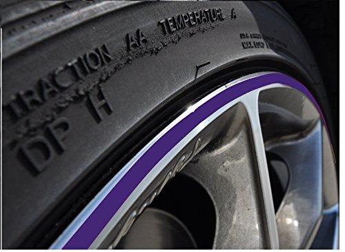nd Aufkleber 10-24 Zoll Radgröße passend für Motorrad und Auto geeignet ()