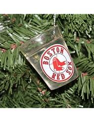 Boston Red Sox Shot Glass Ornement de Noël
