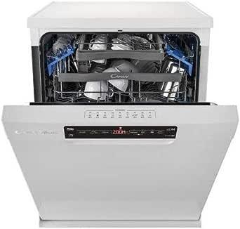 Lave vaisselle 60 cm Candy CDPN2D522PW - Lave vaisselle Blanc - Classe énergétique A++ / Affichage temps restant - Départ différé