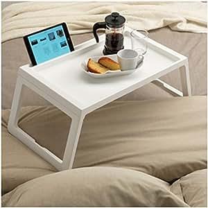 Vassoio porta colazione da letto tavolo portacolazione tavolino per notebook casa e - Vassoio da letto amazon ...