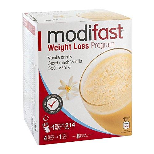MODIFAST PROGRAMM Drink Vanille Pulver, 8X55 g