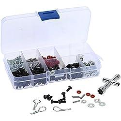 MagiDeal 270 in 1 Special Repair Tool & Screws Box Set for 1/10 HSP RC Car DIY