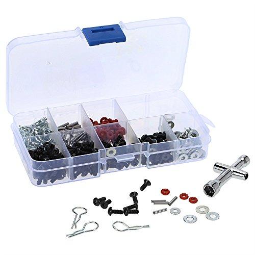 Preisvergleich Produktbild MagiDeal 270 In 1 Spezielle Reparatur-Werkzeug Und Schrauben Box-Set für 1/10 HSP RC Auto DIY
