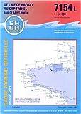 Carte marine - De l'île de Bréhat au Cap Fréhel - Baie de Saint-Brieuc