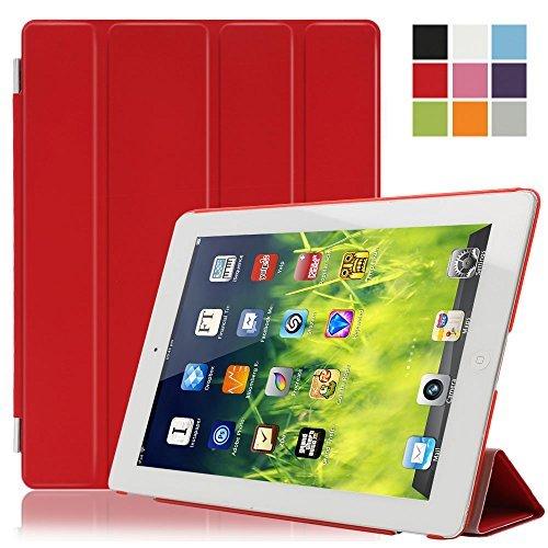 Besmall Smart Cover per Apple iPad 2/3/4 A1395 A1397 A1396 A1416 A1430 A1403 A1458 A1459 A1460 Case Protettivo