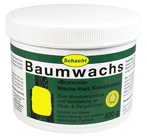 Schacht Baumwachs BRUNONIA 500 g -