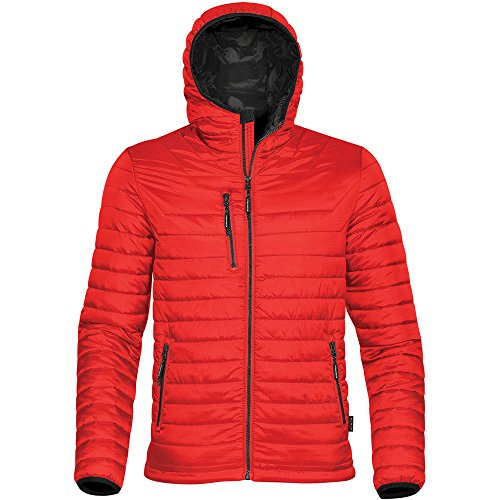 Stormtech Mens Gravity Two Tone Thermal Shell Jacket True Red/ Black