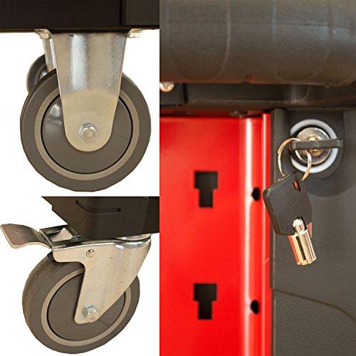 Werkzeugwagen / Werkstattwagen mit Inhalt - 5