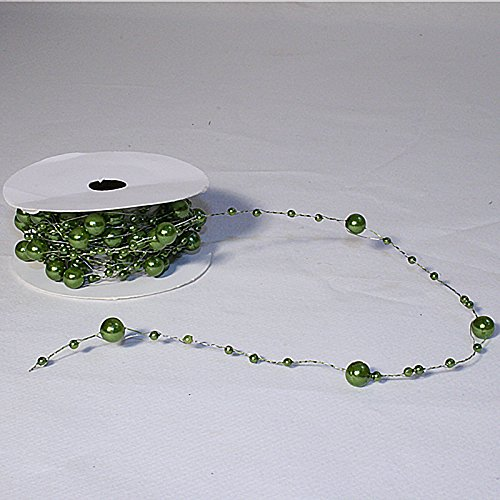 Santex - Guirlande De Perles Vert