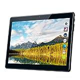 10.1 Zoll Android 7.0 Tablet PC, kivors 1280*800 1GB RAM 16GB Quad Core 3G Dual SIM mit Bluetooth WiFi WLAN GPS USB (16g, schwarz)