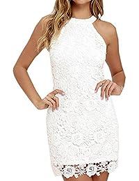 Amazone robe blanche femme