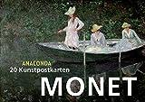 Postkartenbuch Claude Monet - Kein Autor oder Urheber