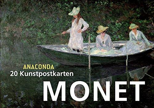 e Monet (Kunst Postkarten)