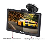 SAT NAV GPS 7inch Capacitive Screen 800x480 with 256MB DDR 8GB 2 Chargers Car GPS Navigation System Include UK and Europe Map