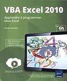 Vidéo de formation VBA Excel 2010 - Apprendre à programmer sous Excel...