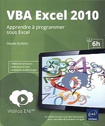 Vidéo de formation VBA Excel 2010 - Apprendre à programmer sous Excel