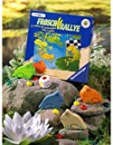 Ravensburger - Frosch-Rallye, Holzspiel (Kinderspiel)