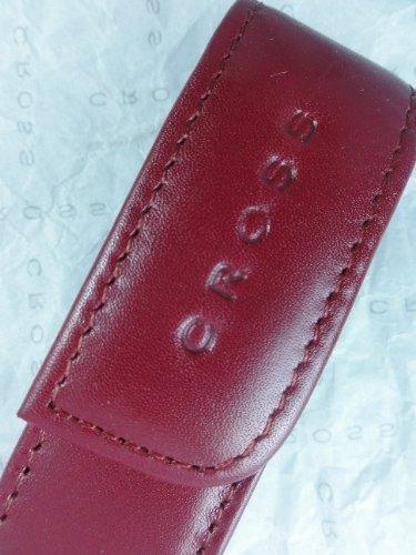 cross-full-grain-italian-leather-signature-perforated-detailing-single-flip-top-pen-plasma-red-by-cr