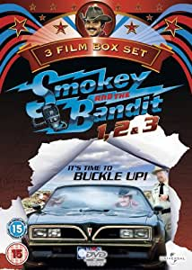 3 Film Box Set: Smokey And The Bandit 1, 2 & 3 (Lenticular) [DVD]