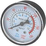 Compresseur d'Air fluide hydraulique, pneumatique manomètre 0-12Bar aspirateur