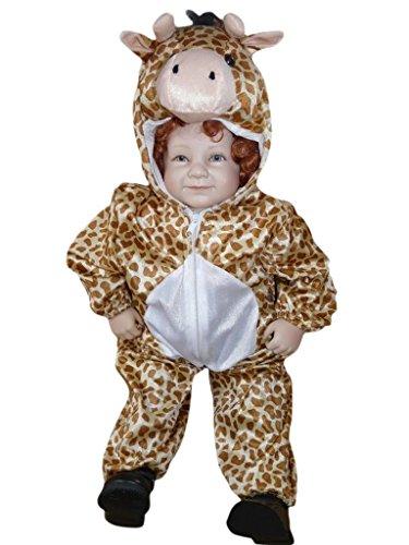 PUS Giraffe-n Kostüm-e Baby J24 Gr.80-86, Kat. 1, Achtung: B-Ware Artikel. Bitte Artikelmerkmale lesen! kleine Kind-er Babies Tier-e Mädchen Junge-n Fasching-s Karneval-s Fasnacht-s Geburtstags-