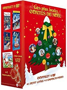 Les Plus beaux contes de Noël - Coffret 4 DVD [Édition Limitée]