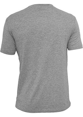 URBAN CLASSICS TB498 Zig Zag Tee T-Shirt gry/tur/wh