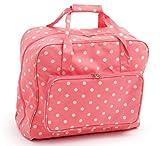 Hobby Gift MR4660 262macchina da cucire in PVC tela cerata, borsa per il trasporto di corallo rosa macchie, per Singer, Janome, Brother, Toyota