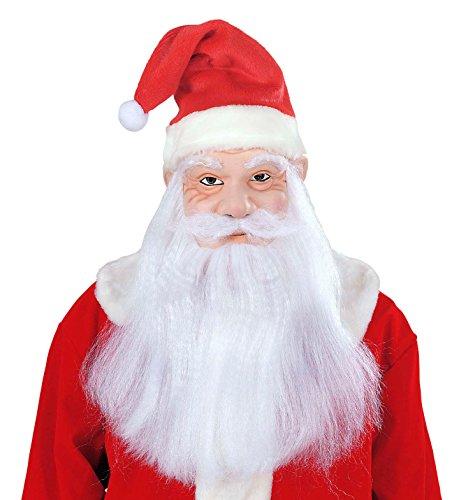 Widmann vd-wdm1532s Maske Weihnachtsmann, weiß, Einheitsgröße
