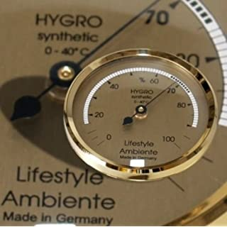 Lifestyle-Ambiente Professional Hair Hygrometer Gold-Humidor-Large
